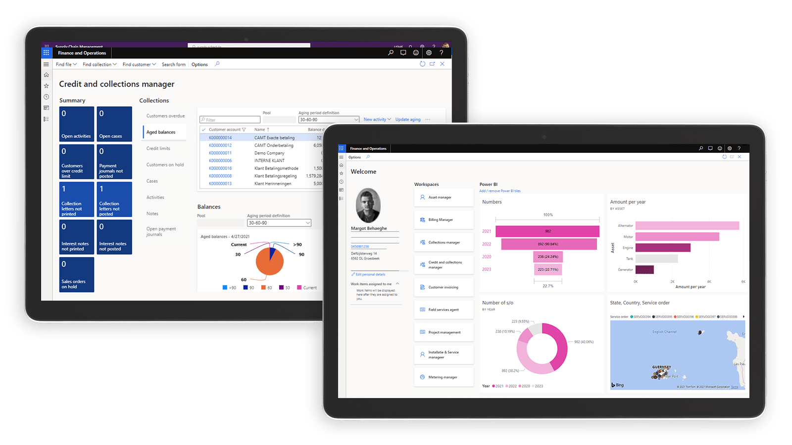 UMAX - CRM and ERP Solution for Utilities built on Microsoft Dynamics 365