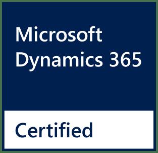 D365 Certified Badge NAVY