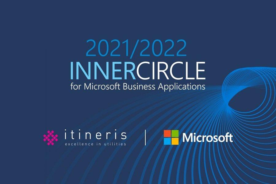 Microsoft Business Applications 2021-2022 Inner Circle award